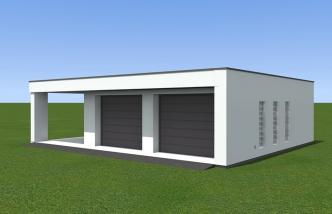 Dobry Dom Gotowe Projekty Garaży Dwustanowiskowych I Wolnostojących